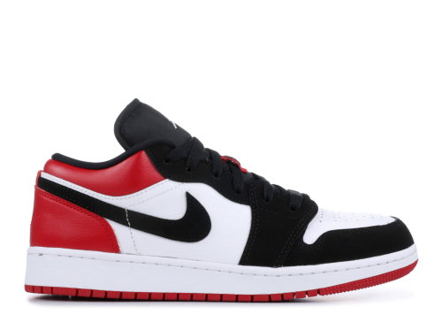 Pantofi Sport Jordan 1 Low Black Toe (GS)